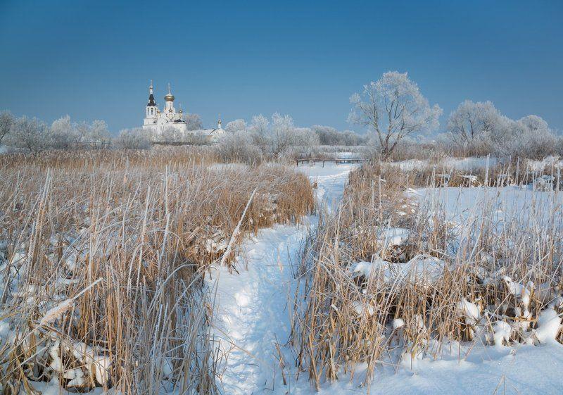 Морозная пора в январе с.Бокиноphoto preview