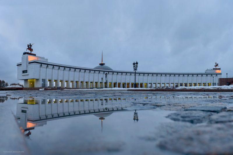 Архитектура, Москва, Отражения, Парк победы, Поклонная гора, Урбанизм Парк Победыphoto preview