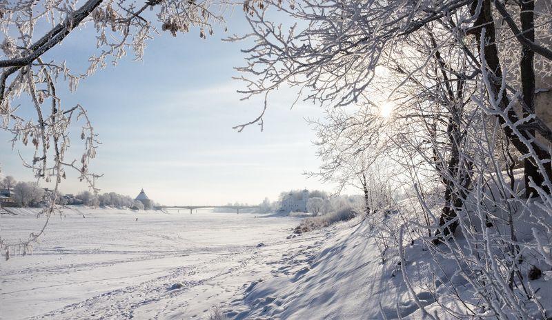 мороз, иней, зима, псков Морозные кружеваphoto preview