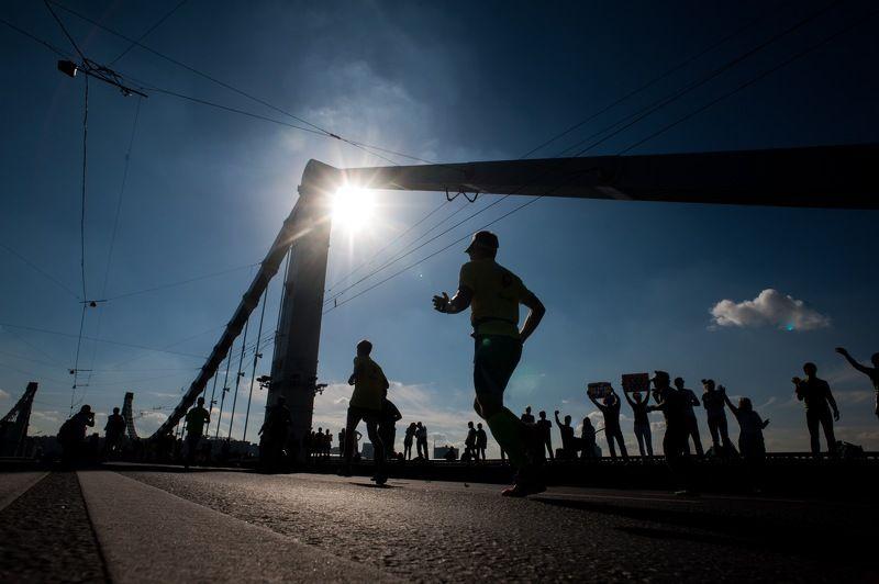 марафон, московский марафон, бегун, марафонец, marathon, run Марафонцыphoto preview