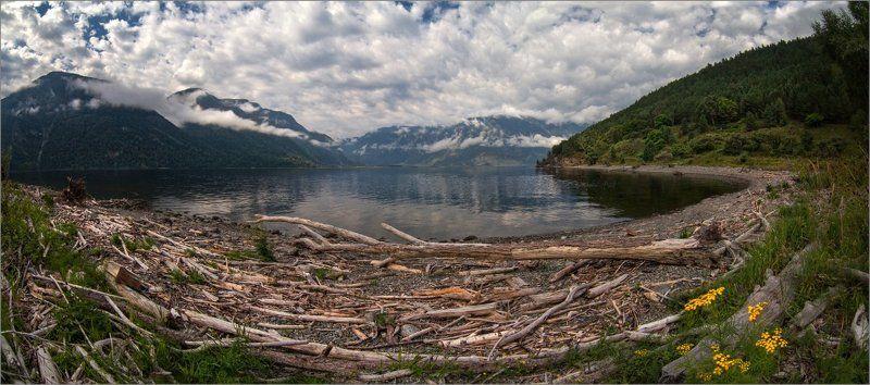 Алтай. Телецкое озеро. Кордон Чири. Altai. Teletskoye Lake. Cordon Chiri.photo preview