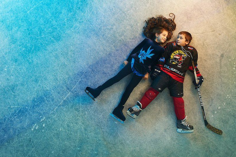 На льду.photo preview