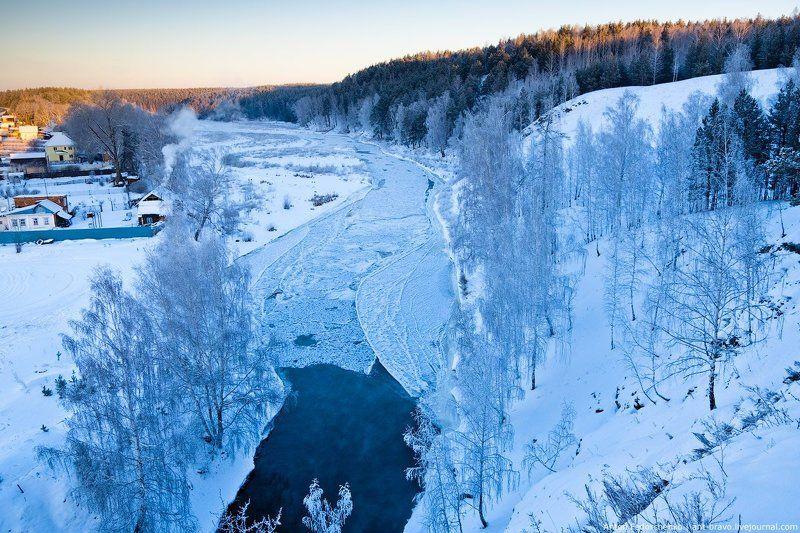 Морозное утро на Исетиphoto preview