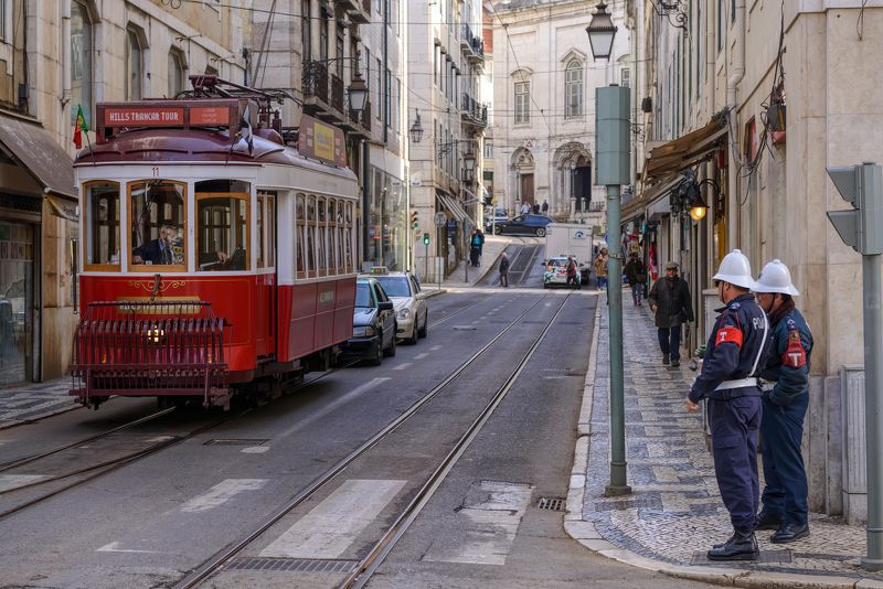 Portugal, Porto, Lisbon, tram,  Trams of Lisbon and Portophoto preview
