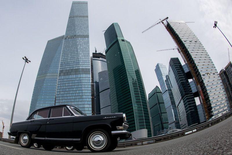 Газ, газ21, ммдц, деловой центр, москва-сити Встреча поколенийphoto preview