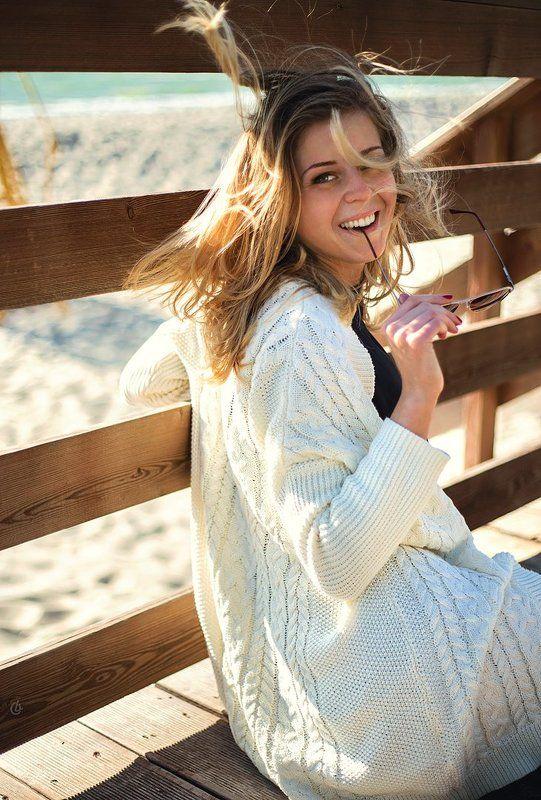 портрет, девушка, улыбка, лето, радость, солнце, счастье Sunphoto preview