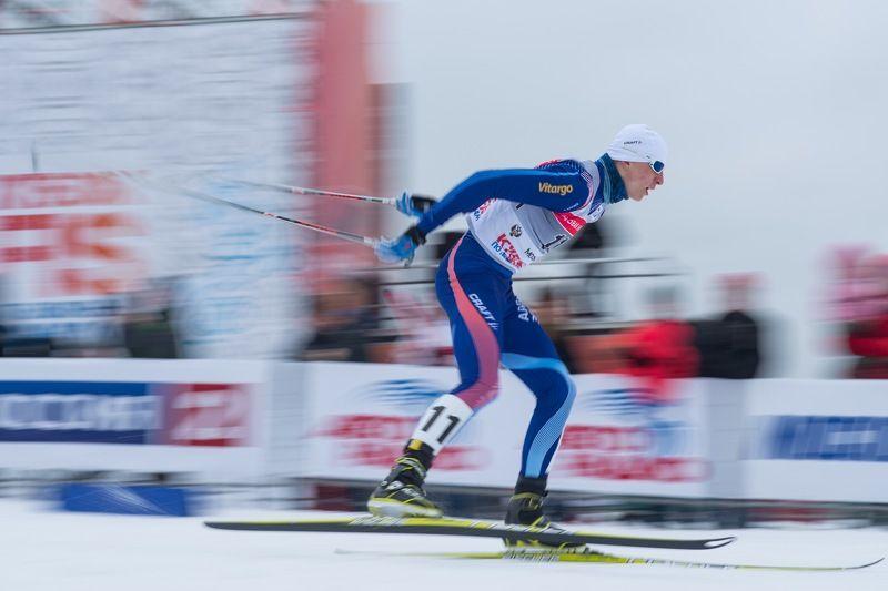 Лыжник, лыжи, лыжные гонки, FIS, кубок мира Со скоростью ветраphoto preview