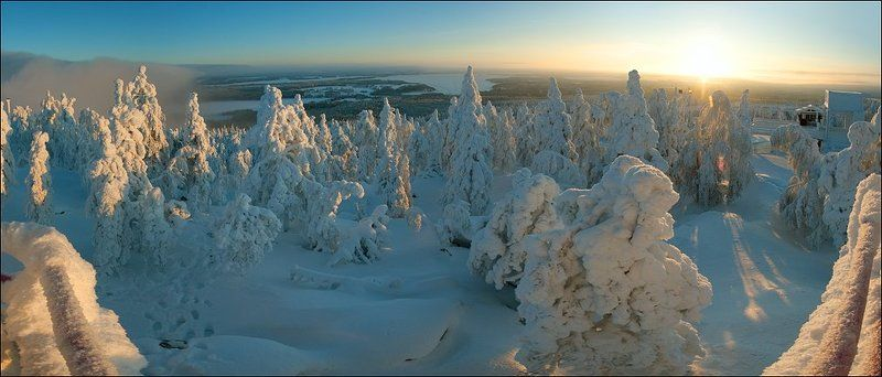 вуокатти, финляндия Обзорная площадка Вуокаттиphoto preview
