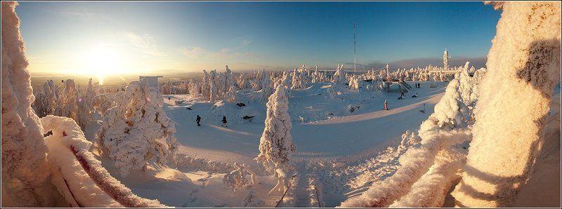 вуокатти, финляндия Панорамы Вуокаттиphoto preview
