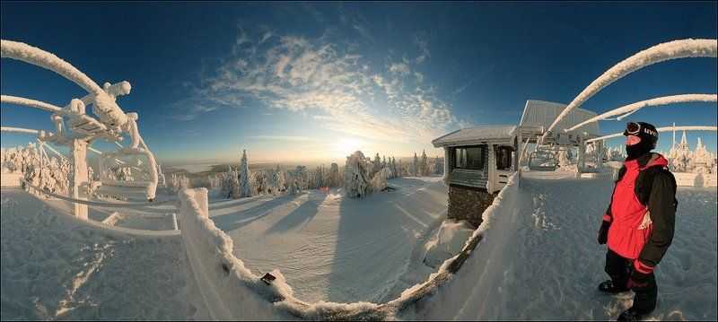 Панорамы Вуокатти. Автопортрет.photo preview