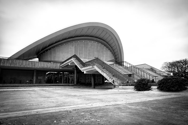 Berlin, architecture House of the World\'s Cultures, Berlinphoto preview