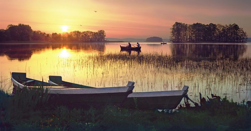 Sunrise Fisherman\'s paradisephoto preview