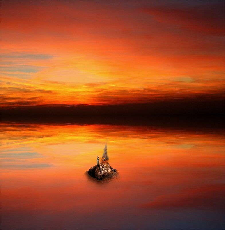 Остров моря отражений...photo preview