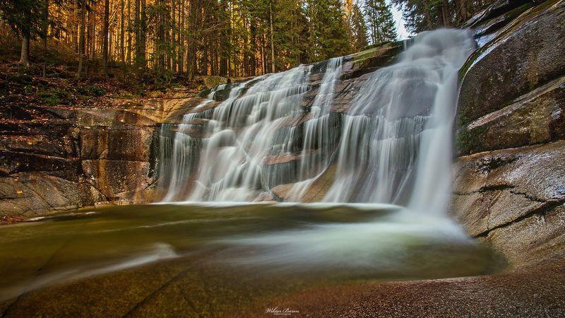 Karkonosze, Sudety  Wodospad Momlawy photo preview