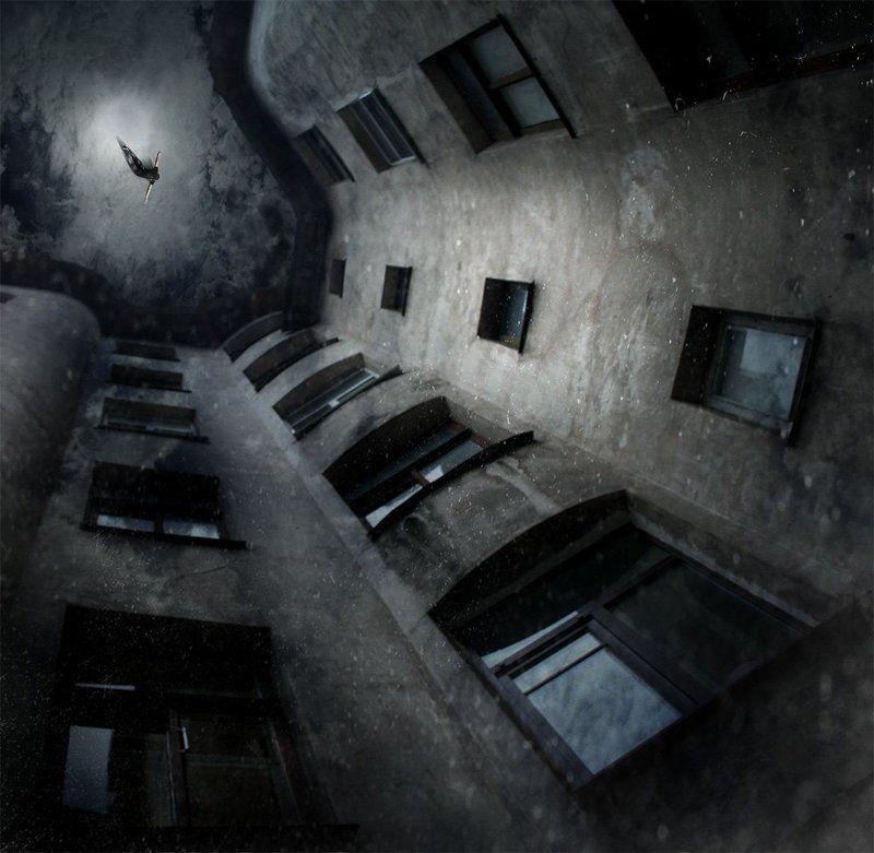 Ночные полёты Петербурга...photo preview
