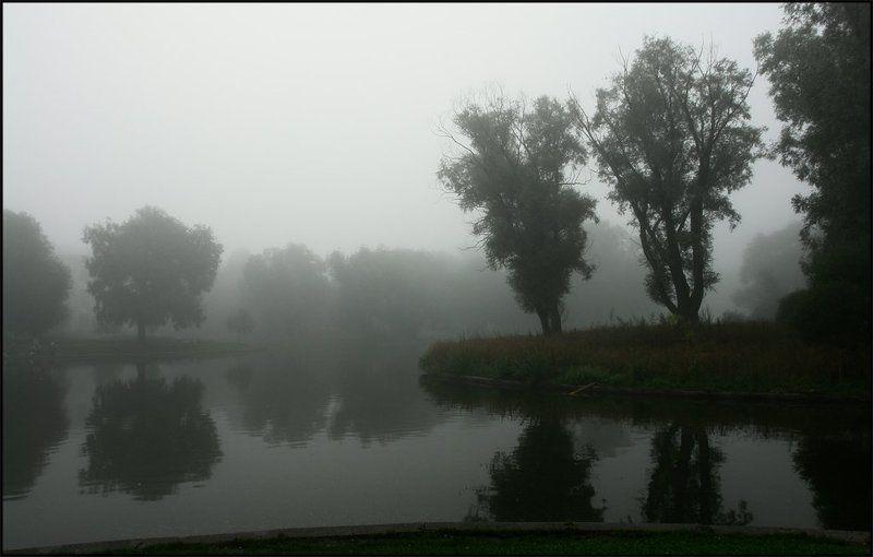 санкт-петербург,питер,юсуповский сад,туман,утро Предчувствие...  (Юсуповский сад)photo preview