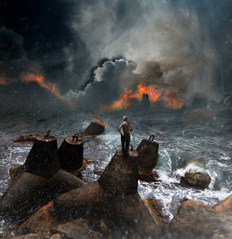 море Ненужный берег...photo preview