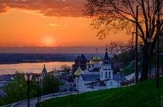Рассвтеы и закаты в Нижнем Новгороде