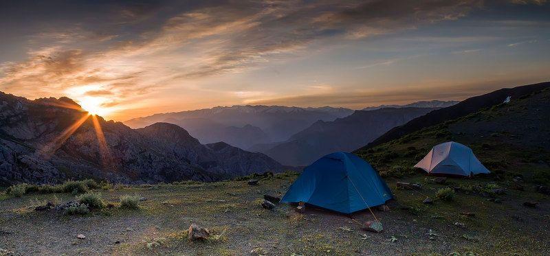 Рассвет над перевалом Тахтаphoto preview