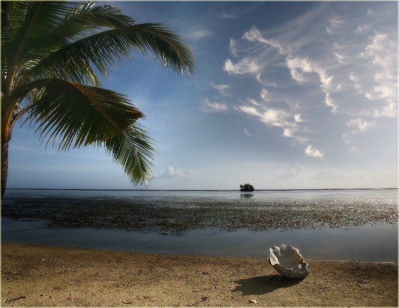 микронезия, палау, остров пилилу, оранжевый пляж Пляжная зарисовка с острова Пилилуphoto preview
