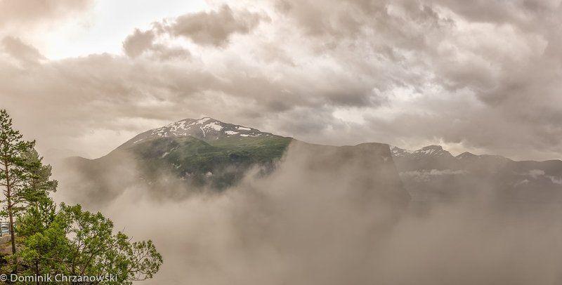 misty Norway fjordsphoto preview
