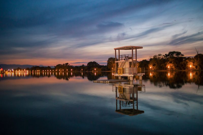 Clouds, Night, Row base, Sunset С Вечером номер 200photo preview
