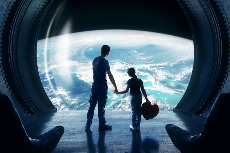 space,ship,earth,planet,world,men,children,parishkov,космос,человек,ребенок,земля,планета photo preview