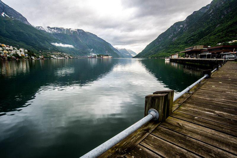 Норвегия, завод, фьиорды, Заводphoto preview