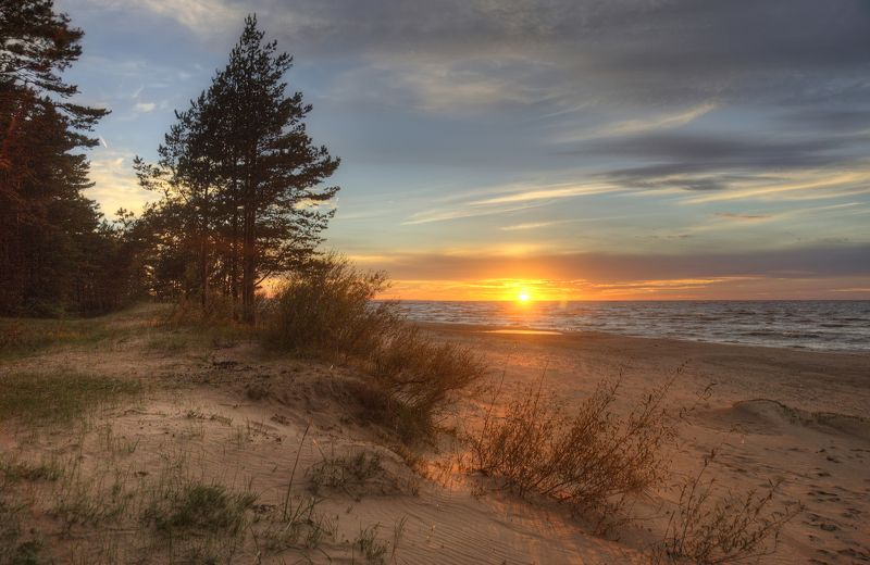 Песчаный закатphoto preview