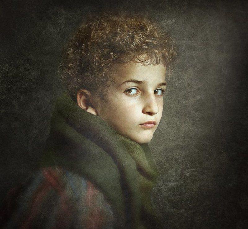 Портрет сына.photo preview