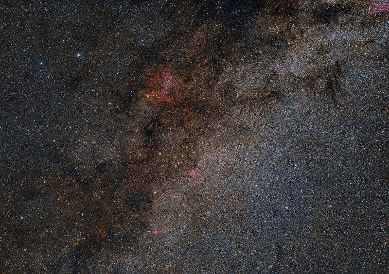 Туманность IC 1396, Гранатовая звезда.photo preview