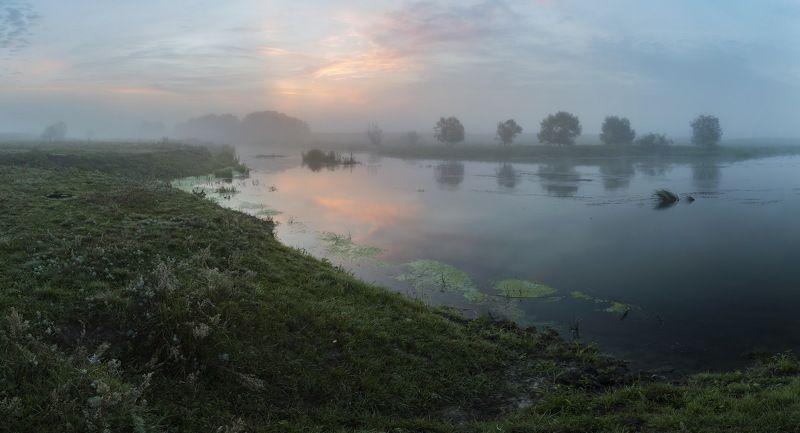 Туман. Утро. Свежесть лета...photo preview