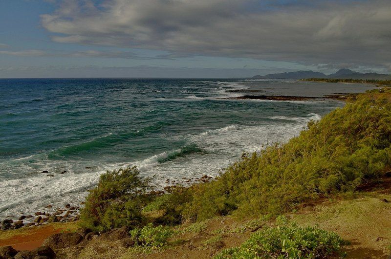 станко, море, пляж, , гавайские, острова Капааphoto preview