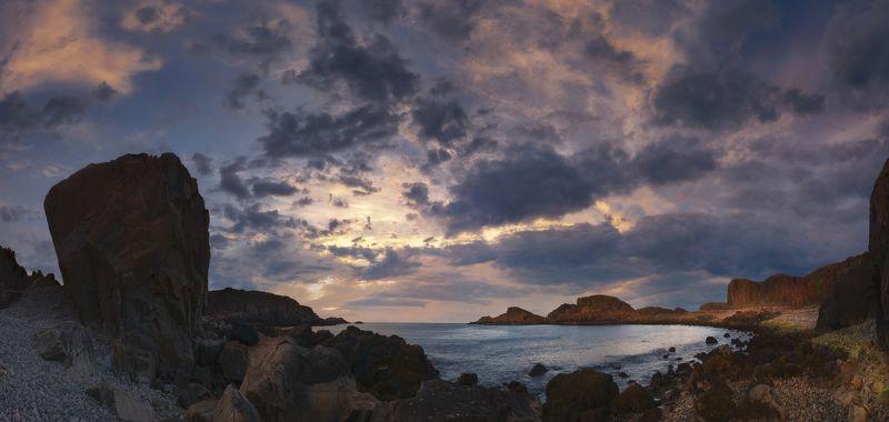 Дальние Зеленцы, Баренцево море, закат Манящая дальphoto preview