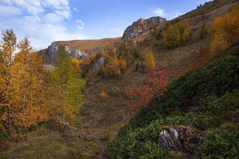 Лучше гор могут быть только горы Осень на Тхачахphoto preview