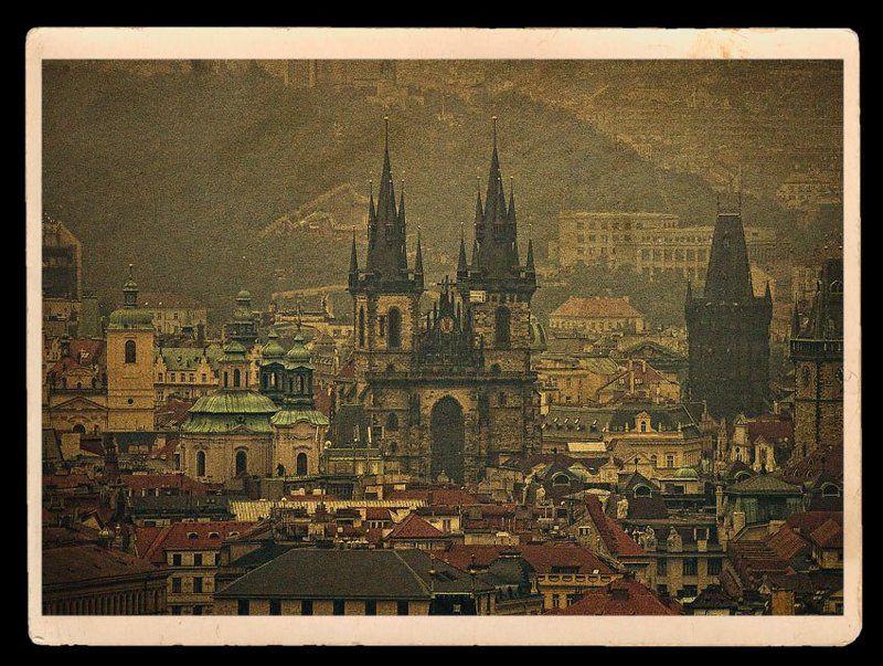 Прага в открыткахphoto preview