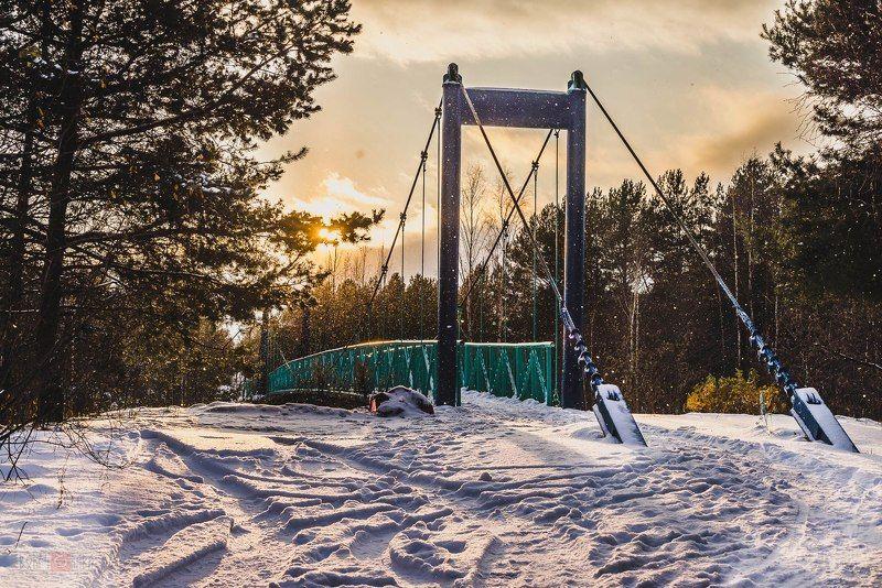 Зима в Сосновом Боруphoto preview