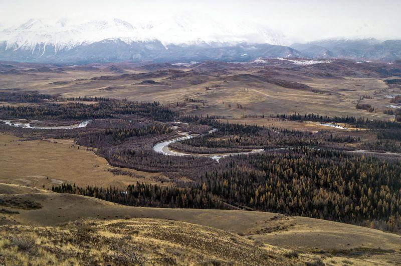 природа алтай путешествие  пейзаж река чуя горы Чуйские изгибы...photo preview