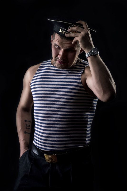 мужской портрет,  Морякphoto preview