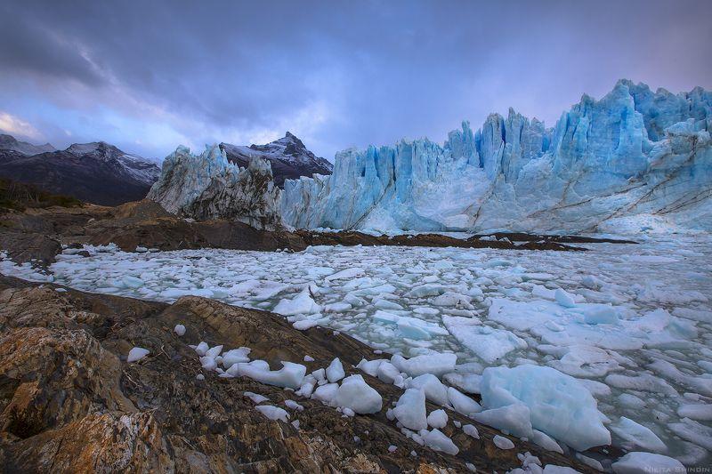ледник перито морено Крошево синего гигантаphoto preview