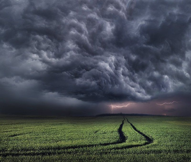 Lithuania, storm, clouds *photo preview