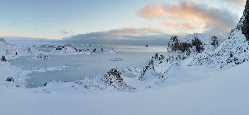 антарктика, остров kig georg, пролив дрейка, Антарктический пейзаж.photo preview