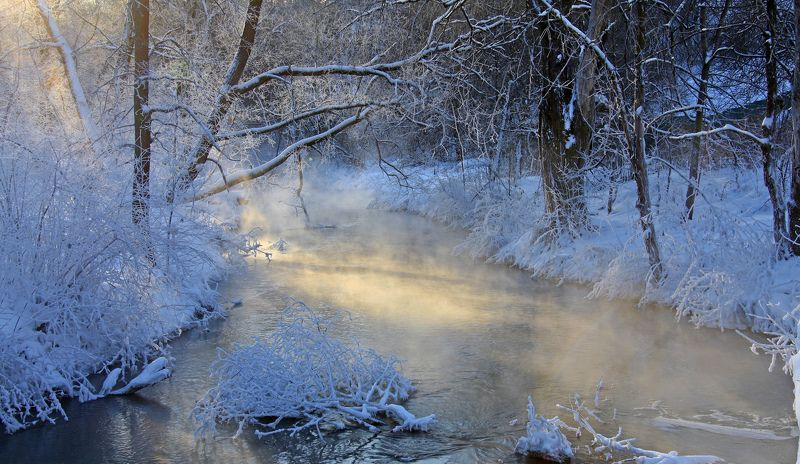 сходня река . Морозные фантазии.photo preview