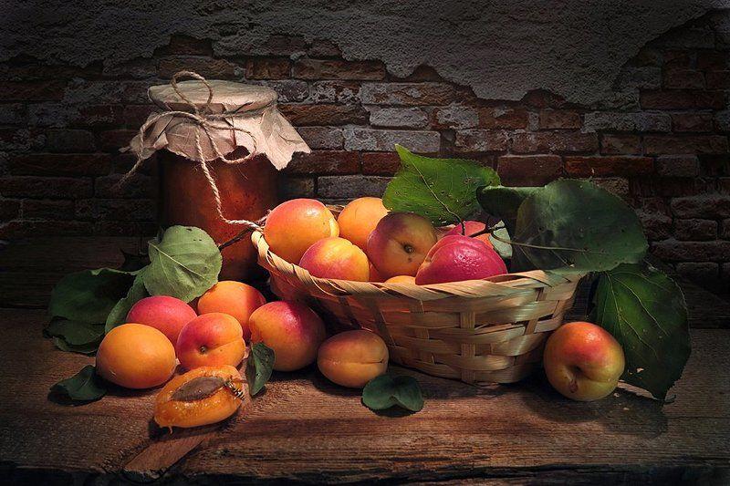абрикосы,варенье Варенье из абрикосовphoto preview