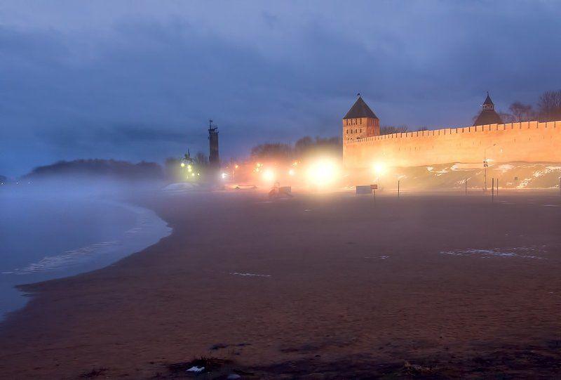Первый рассвет наступившего года. Великий Новгородphoto preview