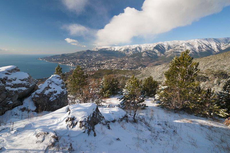 И в Ялте зима бывает...photo preview