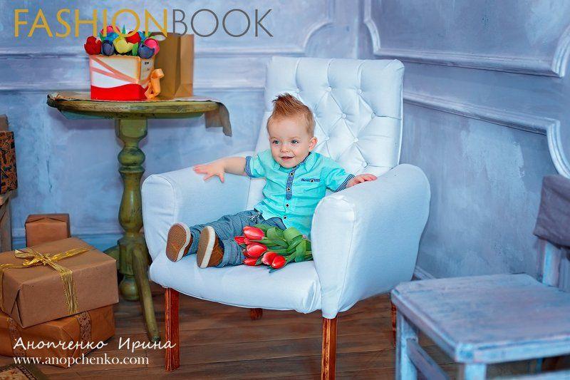 дети Фотосъемка для журнала Fashion Book photo preview