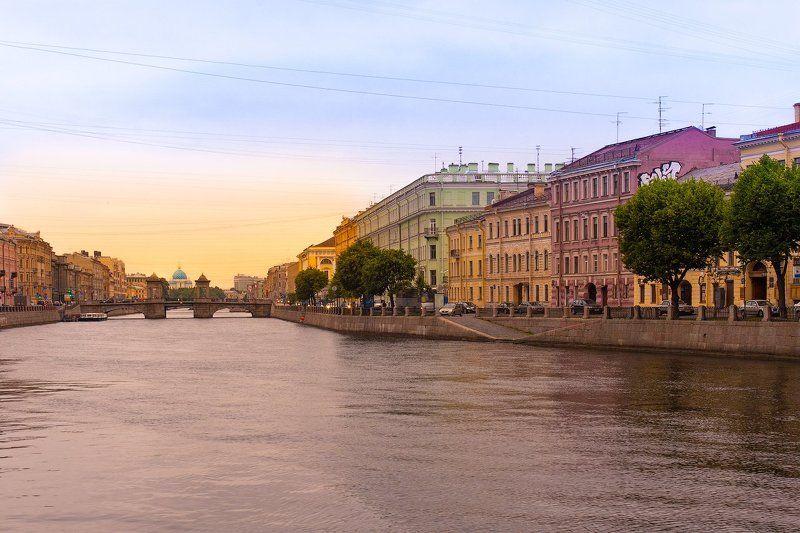 город, санкт-петербург, городской пейзаж, путешествие, нева Питер, теплый любимый Питерphoto preview