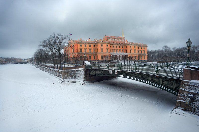 петербург, зима, снег, утро, фонтанка, мосты, Зимние сныphoto preview