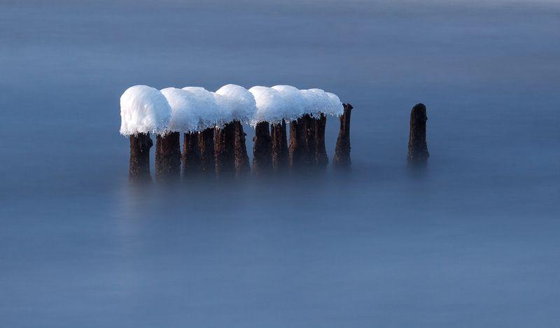water, winter, long exposure, poland, baltic, Balticphoto preview